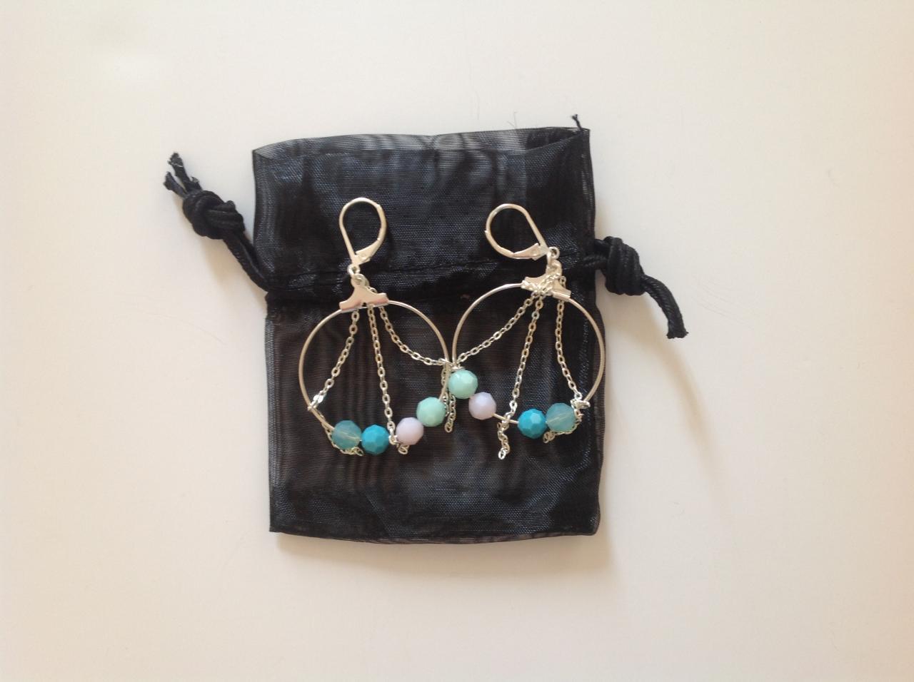 Créoles avec perles à 15€