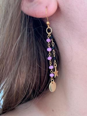 BO chaîne perlée et mini pendentifs